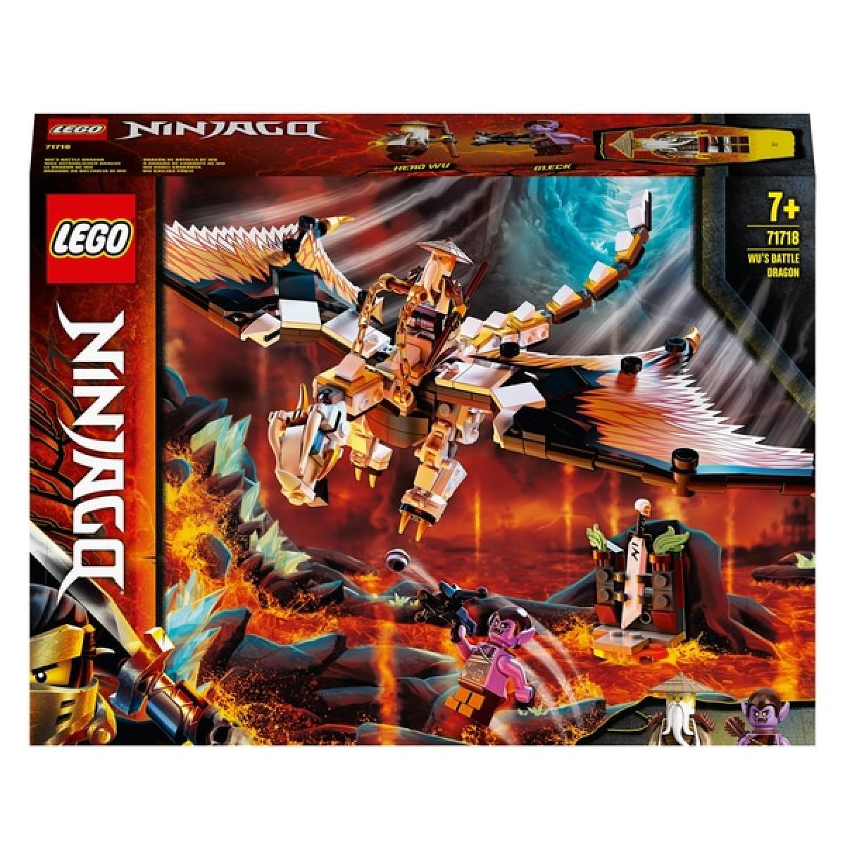 LEGO Ninjago 71718 Wu's Battle Dragon - Framlingham Toy Shop